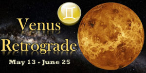 venus retrograde may 525 300x151 May 2020 Astrology Overview