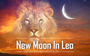 new moon in leo525  300x187 August 2020 Astrology Overview